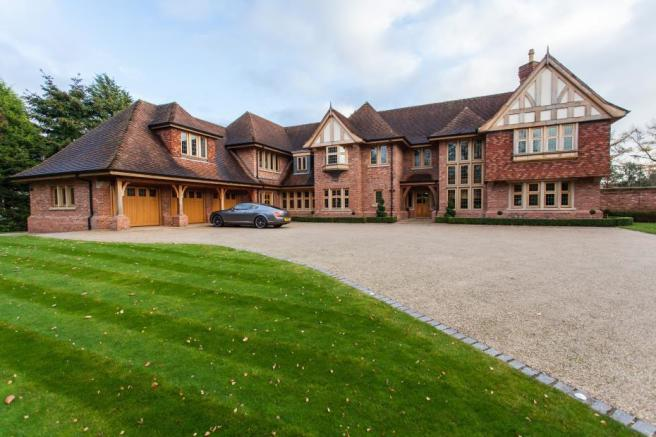 7 bedroom detached house for sale in Withinlee Road Prestbury Cheshire SK10 SK10