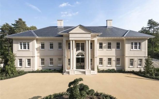 8 bedroom detached house for sale in Windlesham Surrey