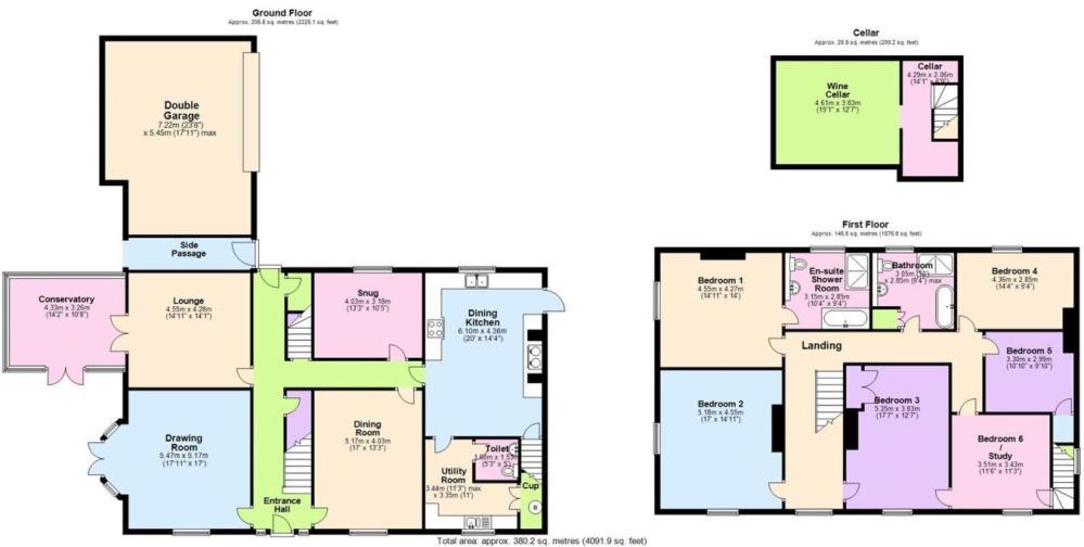 medium resolution of 6 bedroom detached house for sale in tollerton lane tollerton nottingham ng12