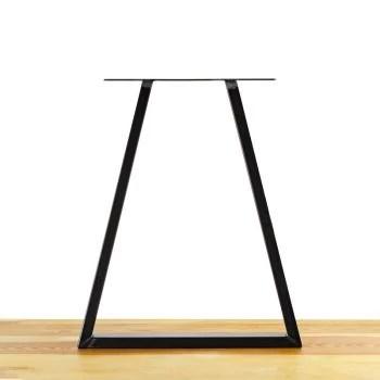 le galant pied de table en acier