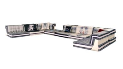 sofa mah jong roche bobois precio klaussner cliffside reviews composition couture jean paul gaultier