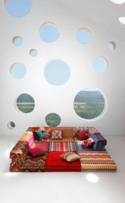 sofa mah jong roche bobois precio costco leather return policy composition missoni home