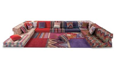the mah jong sofa from ligne roset reupholster my composition missoni home roche bobois