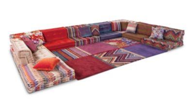 sofa mah jong roche bobois precio curved modular uk composition missoni home