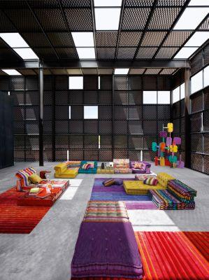 sofa mah jong roche bobois precio southern beds contact composition missoni home