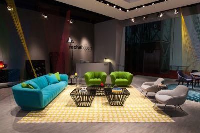 Salon International de Milan 2016  Roche Bobois
