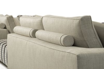 duck feather corner sofa style rocking chair eole 2 composition - roche bobois