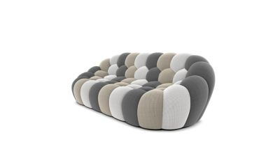 bubble sofa roche bobois cost comfortscapes large reclining sectional 3 seat