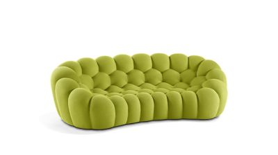 bubble sofa sacha lakic best quality leather sofas canada 2 curved 3 4 seat roche bobois
