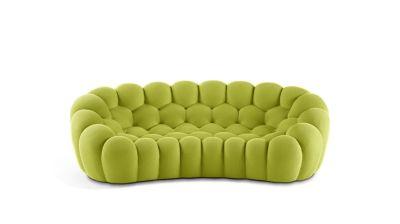 bubble sofa roche bobois cost west village value city furniture 2 curved 3 4 seat