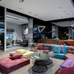 Living Room Sets In Miami Fl Decor With Black Leather Sofa Roche Bobois Showroom Design District 33137 Previous Slide