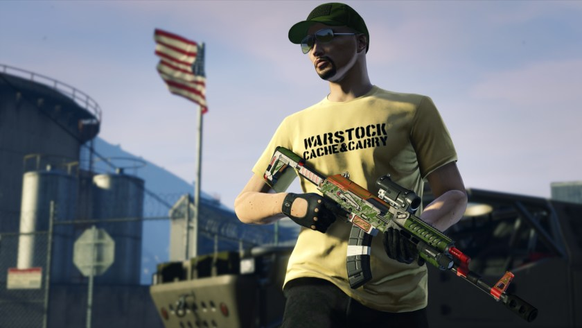 T-shirt Warstock Cache & Carry
