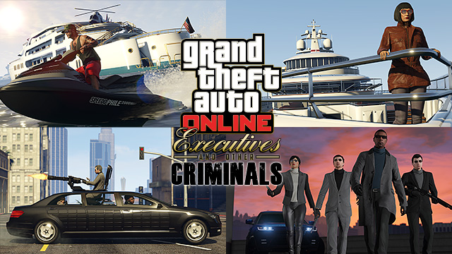 GTA Online Executives And Other Criminals Now Available