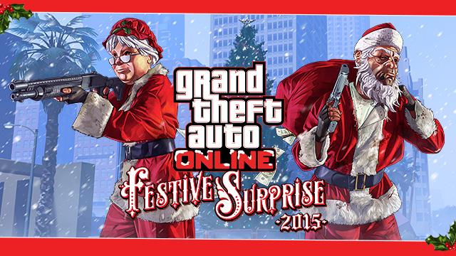 the gta online festive