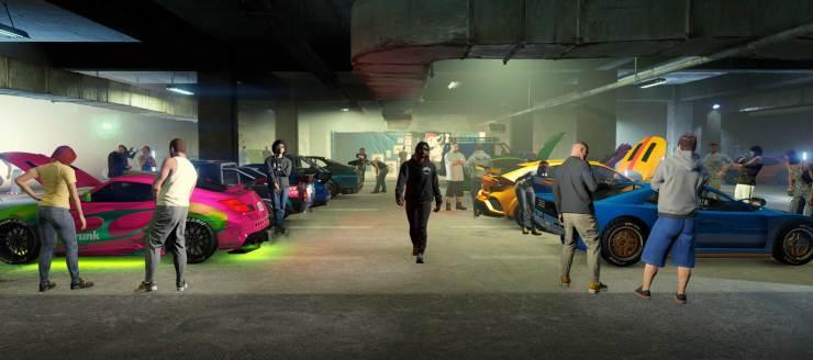 O Los Santos Car Meet é o novo evento no GTA Online