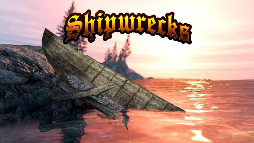 Shipwrecks dans GTA Online avec la Sultan RS Classic