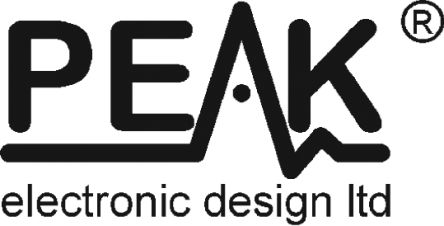 Peak Electronic Design Test de composants électroniques