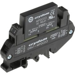Solid State Relay Wiring Diagram Crydom 39 Old Mobile Home Dra1 Mpdcd3 Sensata 3 A Spno Dc Din Main Product