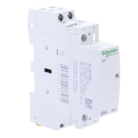 schneider ict 25a contactor wiring diagram payroll process a9c20732 electric acti 9 2 pole 2no 25 a main product technical reference acti9 contactors data sheet