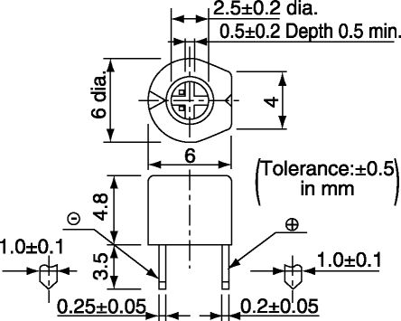 Trimmer Capacitor Diagram