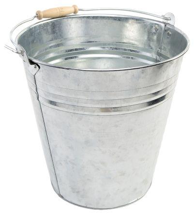 9l galvanised steel bucket