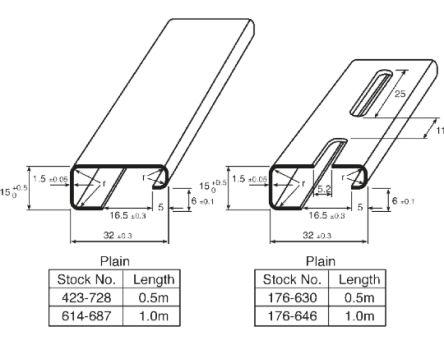 T Rail Connectors Rail Fittings Wiring Diagram ~ Odicis
