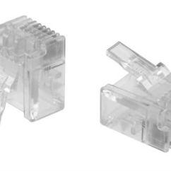 Cat 3 Wiring Diagram Rj11 Hpm Plug Connectors Rs Components Commscope 6p4c Way Straight Cable Mount Unshielded