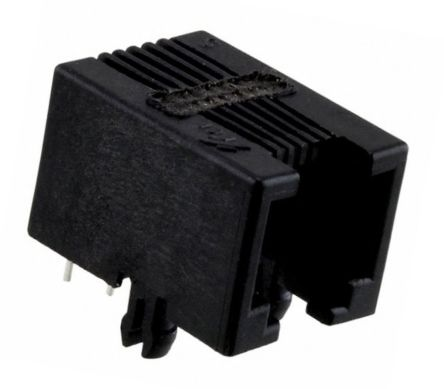 cat 3 wiring diagram rj11 citroen berlingo stereo connectors rs components amphenol fci 6 way straight pcb mount a range of