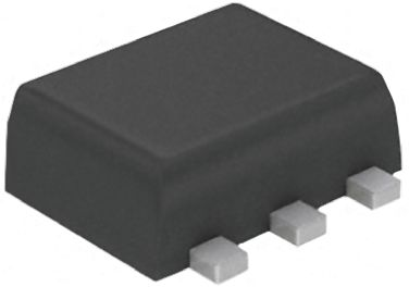 EMI Filter with ESD Protection, ON Semiconductor Transient Voltage Suppressors, ON Semiconductor Dimensions: 1.7 x 1.3 x 0.6mm. Length: 1.7mm. Width: 1.3mm. Manufacturer: ON Semiconductor., MPN: NUF2230XV6T1G