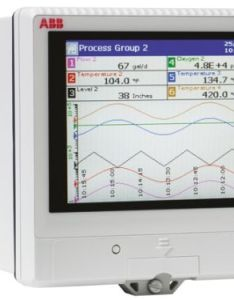 Abb rvg channel paperless chart recorder measures current millivolt resistance also rvg      rh azdelivers