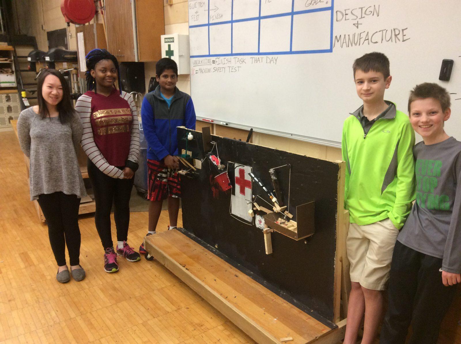 Shakopee West Junior High Shakopee Rube Goldberg