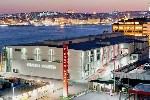 Istanbul Modern Art Museum - Ruebarue
