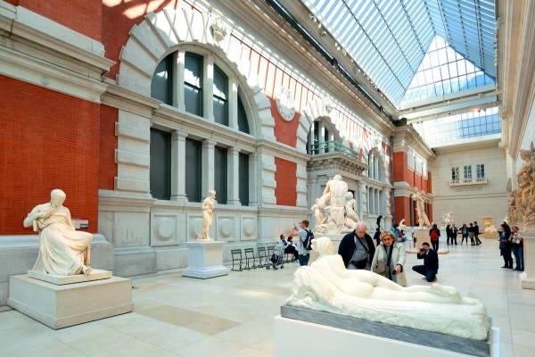 Metropolitan Museum of Art Interior