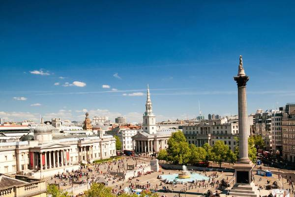 Trafalgar Square London - Ruebarue