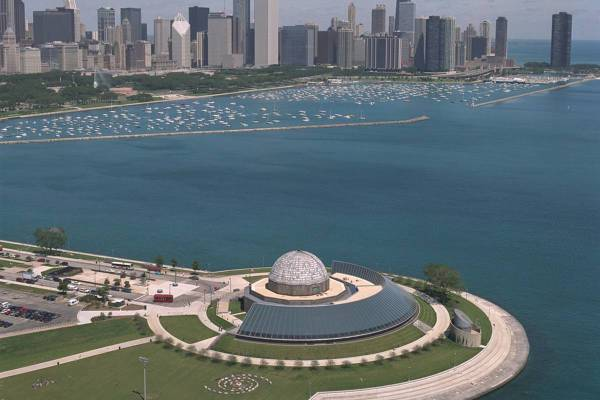 Adler Planetarium Chicago - Ruebarue