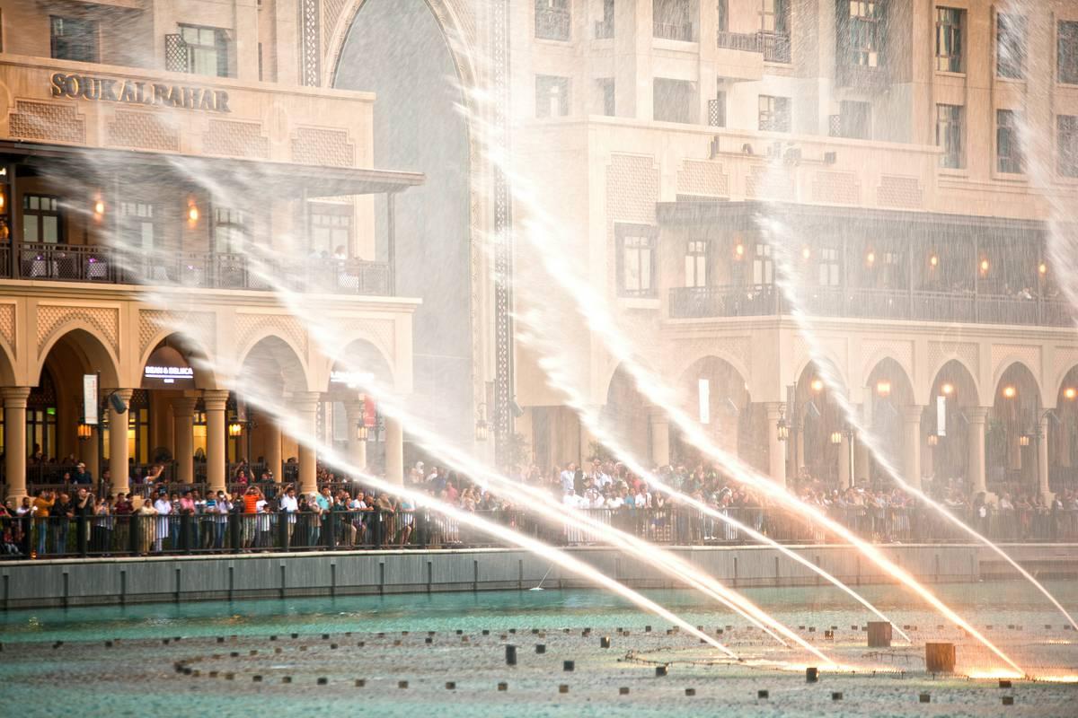 Dubai Fountain Dubai  RueBaRue