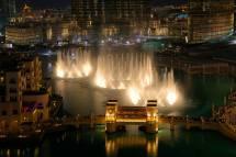 Dubai Fountain - Ruebarue
