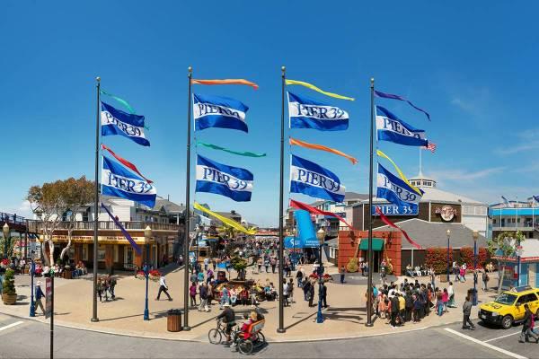 Pier 39 San Francisco - Ruebarue