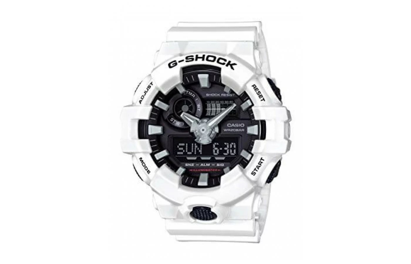 Casio G-Shock GA700-1B Watch Review RunnerClick