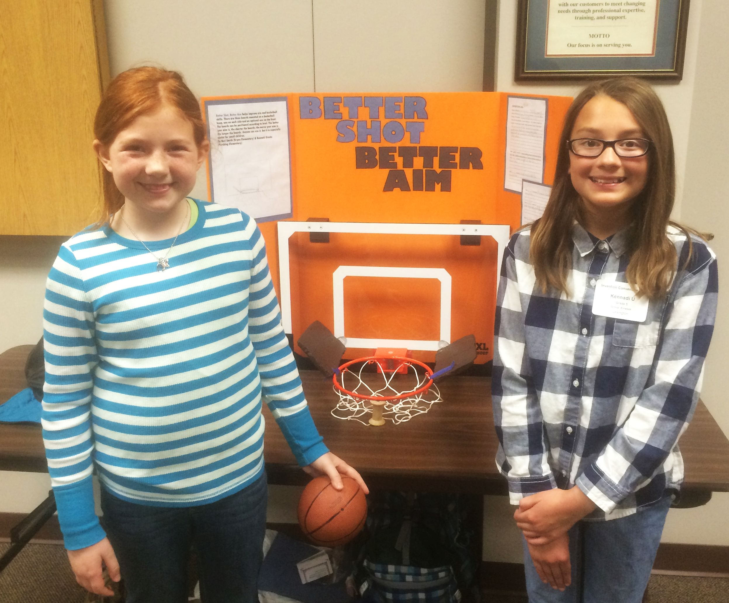 Rrn Lexington 5th Graders Invent Better Shot Better Aim