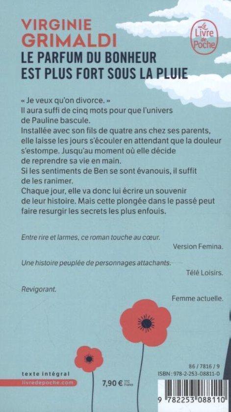 Le Parfum Du Bonheur Est Plus Fort Sous La Pluie : parfum, bonheur, pluie, Bol.com, Parfum, Bonheur, Pluie,, Virginie, Grimaldi, 9782253088110