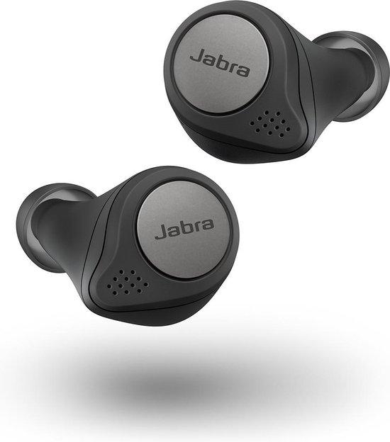 Jabra Elite Active 75t - true wireless sportoordopjes - Titanium Zwart