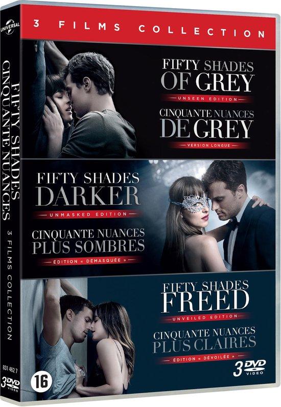 Trilogie 50 Nuances De Grey : trilogie, nuances, Bol.com, Fifty, Shades, Trilogy, (Dvd),, Eloise, Mumford, Dvd's