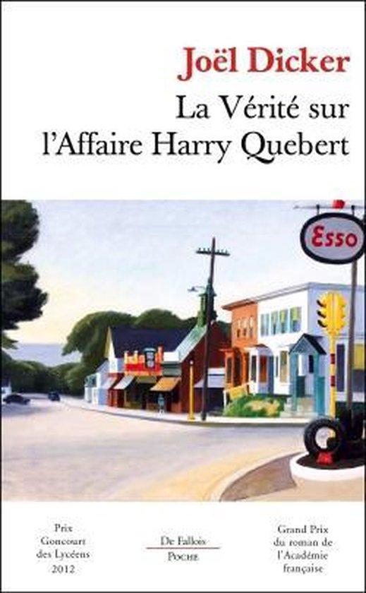 La Verite Sur L Affaire Harry Quebert Film : verite, affaire, harry, quebert, Bol.com, Verite, L'affaire, Harry, Quebert,, Dicker, 9782877068635, Boeken