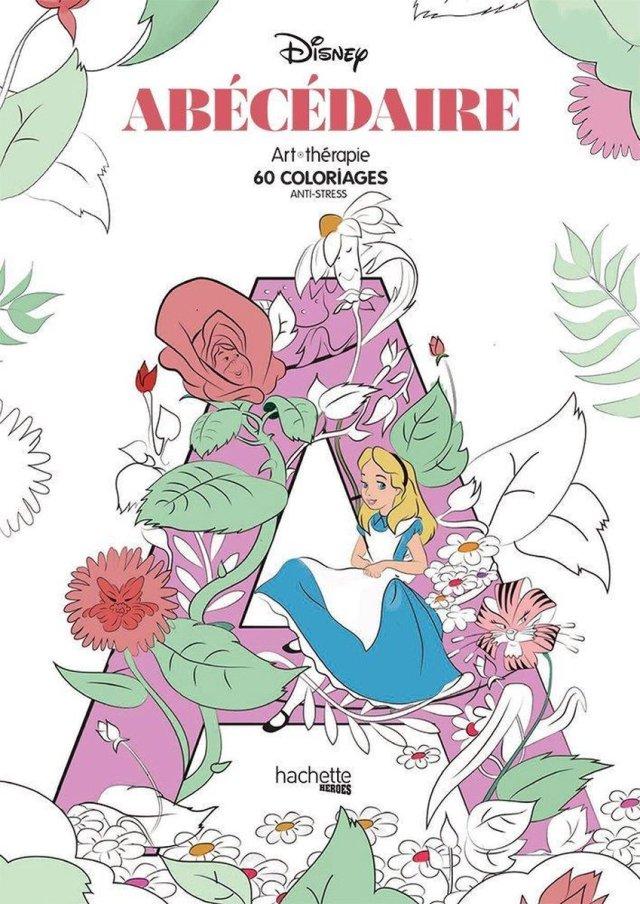 Disney Abécédaire: 28 coloriages anti-stress