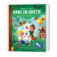 Speuren naar Hans & Grietje + kartonnen zaklamp
