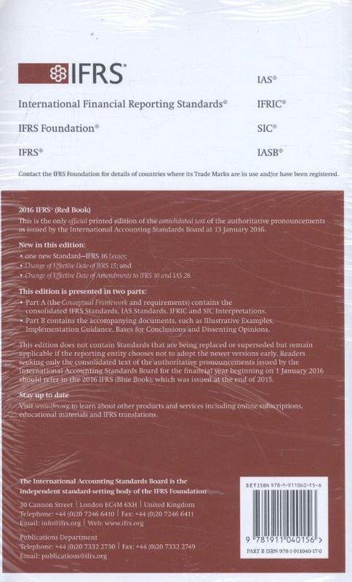 bol.com | International Financial Reporting Standards (Eng.) 2016 | 9781911040156 | Boeken