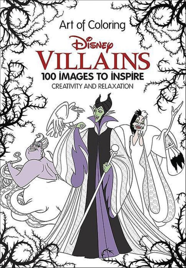 Art of Coloring: Disney Villains : 29 Images to Inspire Creativity and  Relaxation,  bol.com