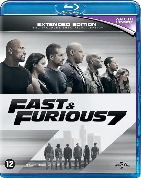 Fast And Furious 7 : furious, Bol.com, Furious, (Blu-ray), (Blu-ray),, Ludacris, Dvd's