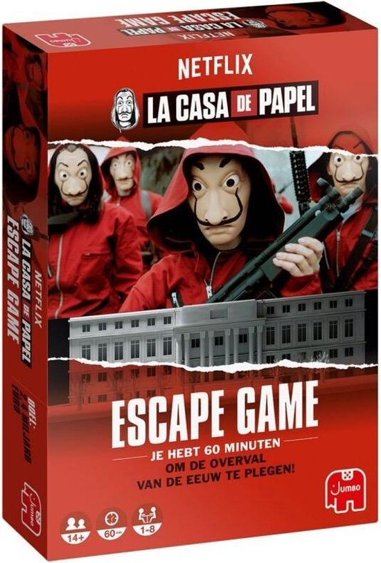 Escape Game La Casa De Papel : escape, papel, Bol.com, Papel, Escape, Games